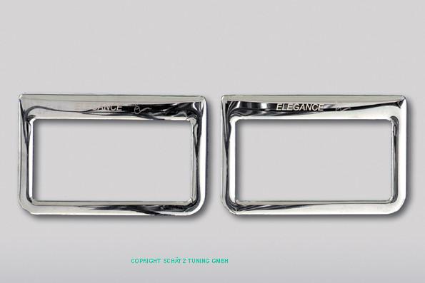 Schätz ® Chrom Aschenbecherrahmen Mercedes W140 Limousine