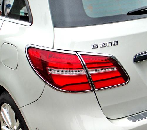Schätz ® Chrom Rücklichtrahmen Mercedes B-Klasse W246 ab Bj. 11/2014 - 03/17