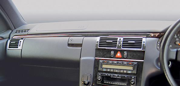 Schätz ® Edelholz Ergänzungsset für Mercedes E-Klasse W210 Rechtslenker in Vogelaugenahorn