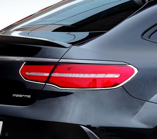 Schätz ® Chrom Rücklichtrahmen für Mercedes GLE Coupe C292 ab Bj. 2015