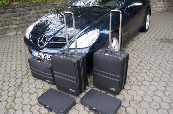 Cabrio Kofferset für Mercedes SLK R171 Bj. 03/2004 - 03/2011