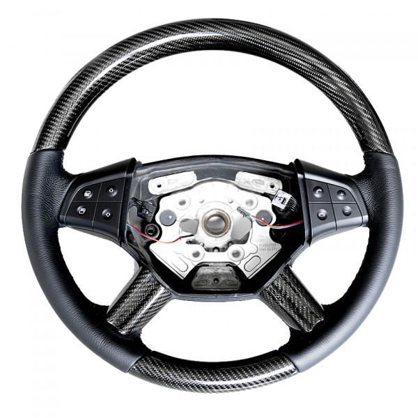 Schätz ® Sportlenkrad Carbon Leder schwarz für Mercedes Benz ML W164