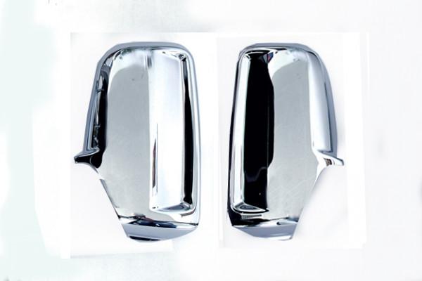 Edelstahl Spiegelkappen für Mercedes Sprinter W901, W903, VW Crafter 2012-2016